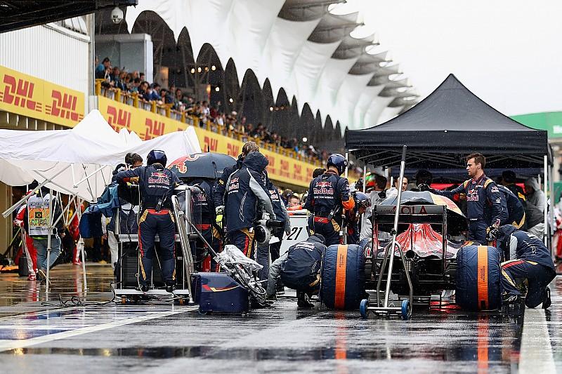 Toro Rosso tuvo que arriesgarse para compensar el déficit de motor