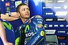 Rossi retient son faible retard plus que sa 6e place