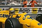 30 anos: Ayrton Senna e as últimas vitórias da Lotus na F1
