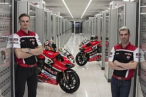 WSBK Noticias de última hora Ducati presenta su equipo del WorldSBK con Davies y Melandri