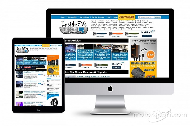 Motor1.comがInsideEVs.comを取得。EV情報の発信をリード