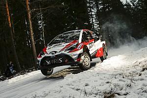 WRC Leg звіт Ралі Швеція: символічна перемога Латвали на старті гонки