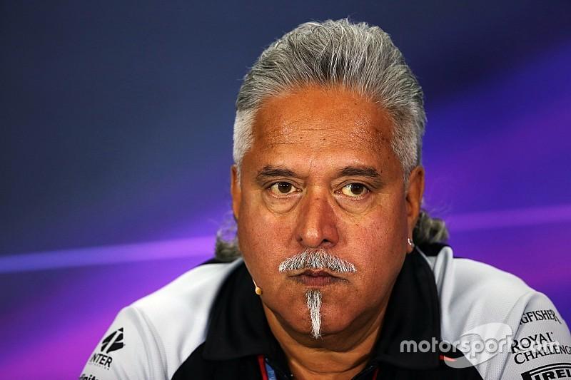 India pide extradición del dueño de Force India