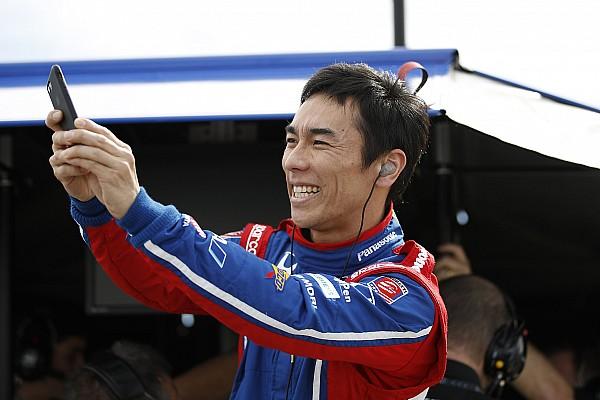 IndyCar テストレポート 【インディカーテスト】佐藤琢磨が夕刻のテストセッションで3番手