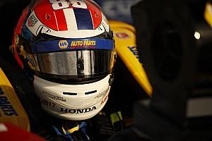 IndyCar Новость Камера на визоре: как гонщики IndyCar видят овалы