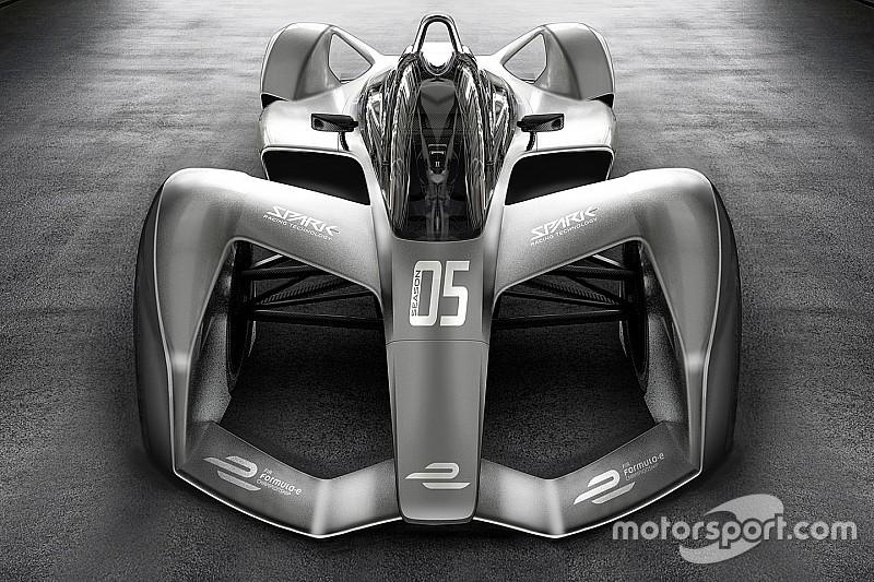 Spark onthult concept van nieuwe Formule E-bolide