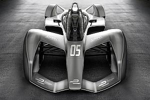 Formel E News Designstudie: Sieht so das nächste Rennauto der Formel E aus?
