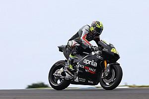 MotoGP Nieuws Espargaro kan met de Aprilia gemakkelijker pushen dan met Suzuki