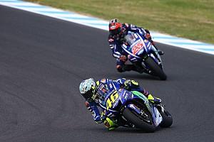 """MotoGP Nieuws Viñales: """"Je kunt je naast Rossi geen ster voelen"""""""