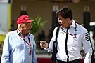Formel 1 Toto Wolff und Niki Lauda verlängern F1-Verträge mit Mercedes bis 2020