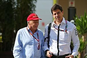 Formula 1 Breaking news Wolff dan Lauda tetap di Mercedes hingga 2020