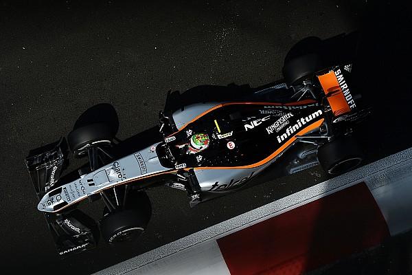 Force India presenta su equipo de tres pilotos en el test de F1 en Barcelona