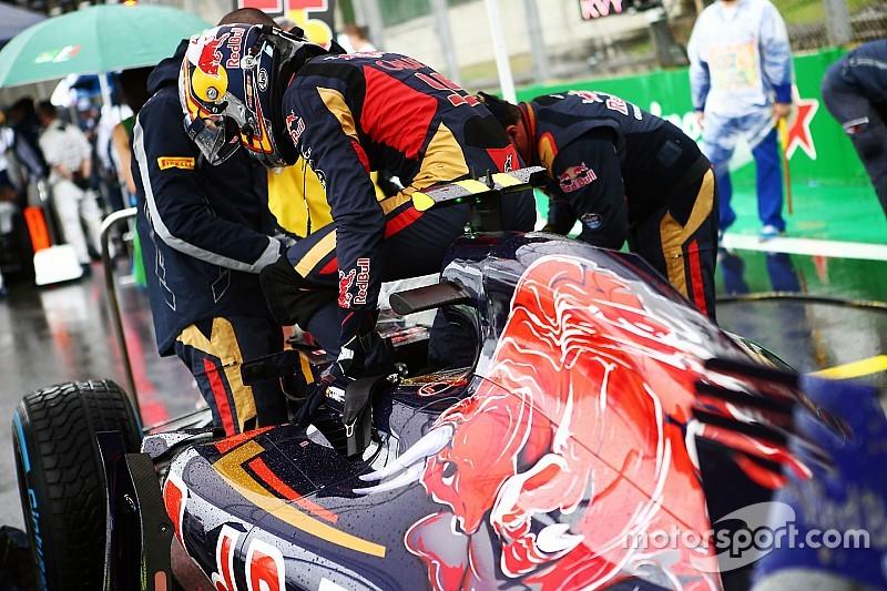 Проблемы с мотором помешали Toro Rosso во время съемочного дня