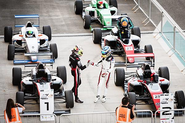 فورمولا 4 أخبار عاجلة جوناثان أبردين يحصد لقب بطولة الفورمولا 4 الإماراتيّة في موسمها الأوّل
