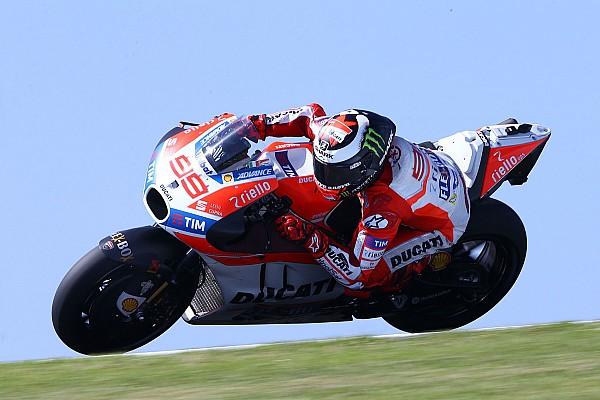 MotoGP Ultime notizie La Ducati completa una giornata di test produttiva a Jerez