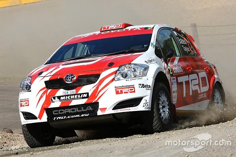 Toyota coy on return of Australian rally programme