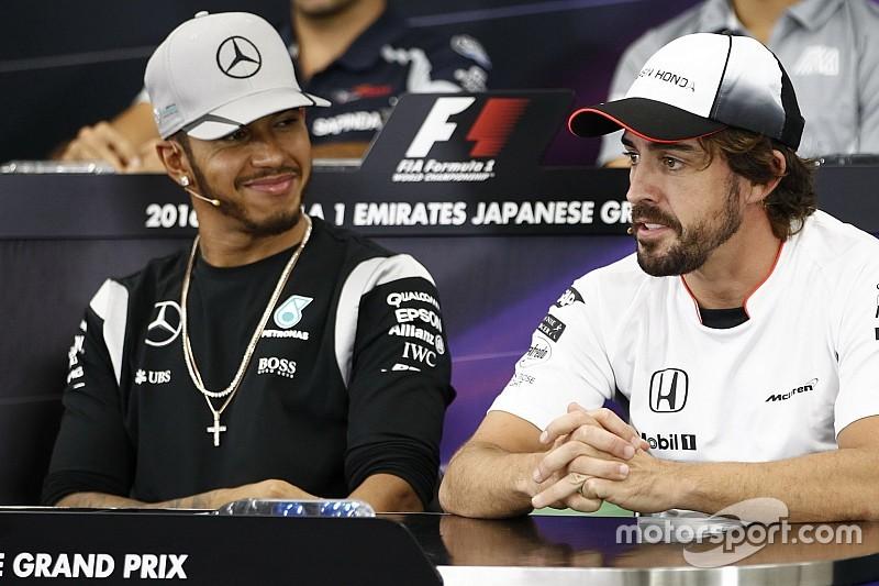 Survei F1: Hamilton tempel Alonso, respons capai 100.000