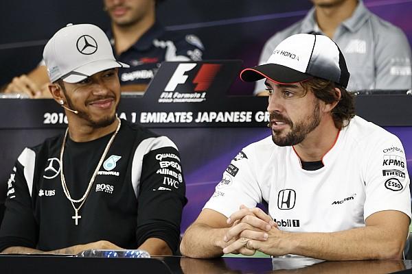 Formule 1 Actualités Heureux qu'Alonso fasse l'Indy 500, Hamilton envisage le Daytona 500