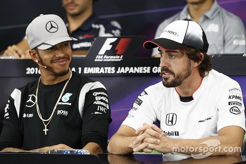 Heureux qu'Alonso fasse l'Indy 500, Hamilton envisage le Daytona 500