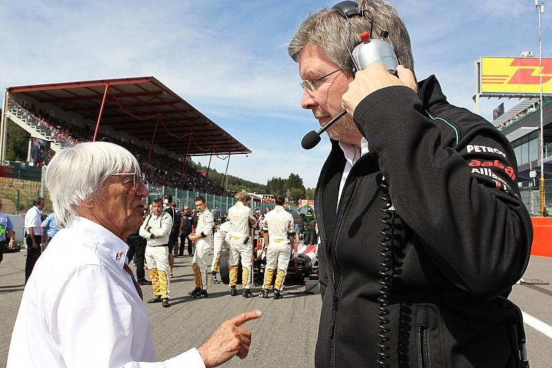 """Brawn : Le départ d'Ecclestone, """"je n'en ai jamais fait une condition"""""""