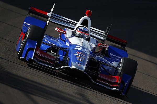 IndyCar 予選レポート 【インディカー】フェニックス予選:琢磨18番手。シボレー上位独占