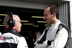 Formula E Noticias de última hora Kubica probó un monoplaza de Fórmula E en Donington Park