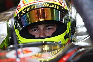 F1 Noticias de última hora Pérez, sobre su etapa en McLaren: