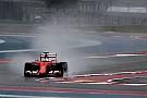 Ferrari testera des pneus pluie Pirelli avec une F1 2015