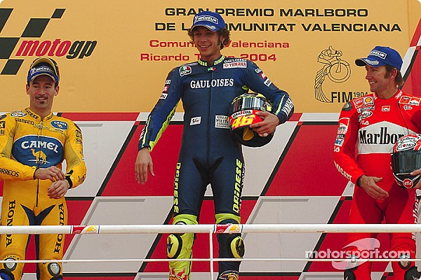 Valentino Rossi: 20 jaar van overwinningen in het wereldkampioenschap