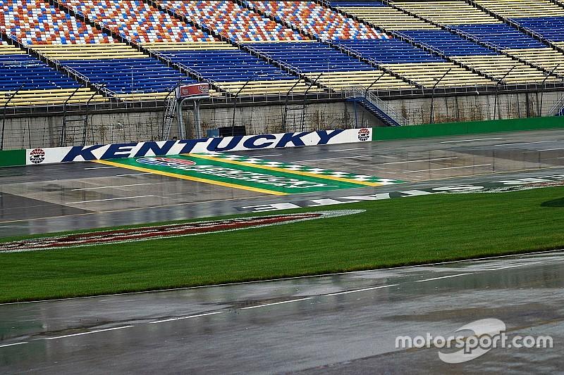 Carrera de Nascar Xfinity en Kentucky fue pospuesta para el sábado
