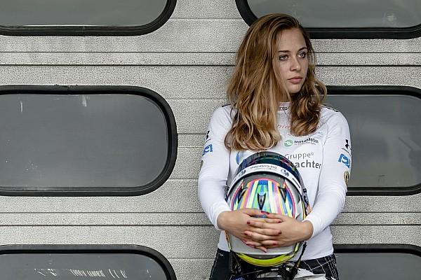 Formula 4 VIDEO: el incidente que le costó 5 mil euros a Sophia Floersch