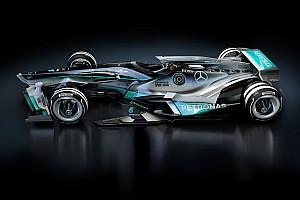 Formel 1 Fotostrecke Bildergalerie: Formel-1-Designstudie für 2030 mit modernen Lackierungen