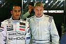 Hakkinen elogia a la dupla de  Mercedes: