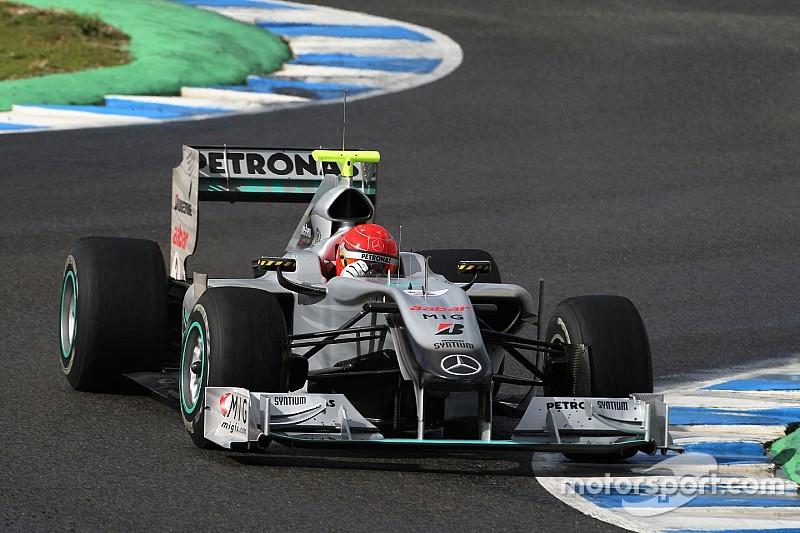 A Forma-1-be hosszú idő után visszatért pilóták: Schumacher azonnal villant