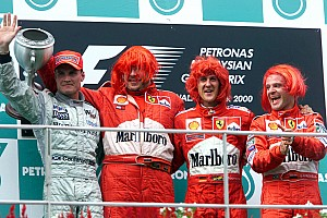 Усі гонщики Ф1, що перемагали за кермом Ferrari
