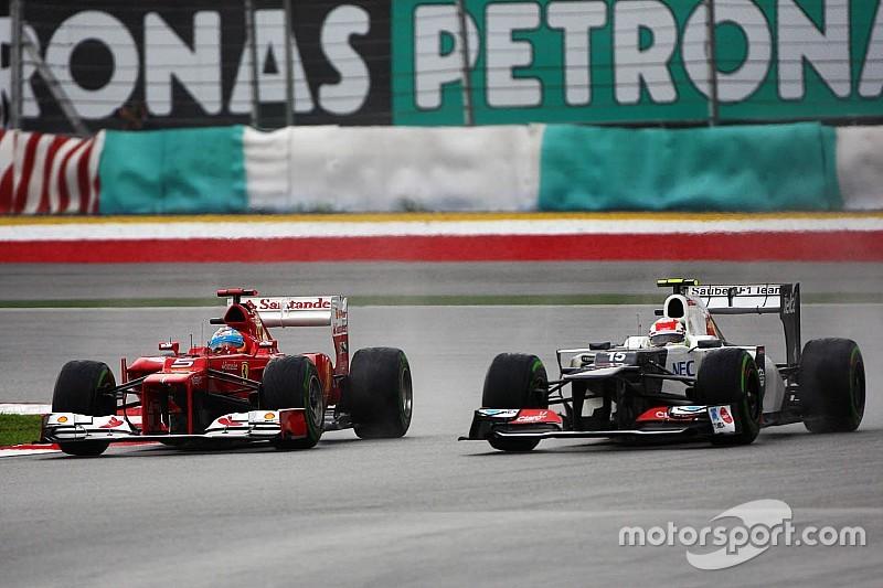 Quand Pérez est passé à côté d'un volant chez Ferrari