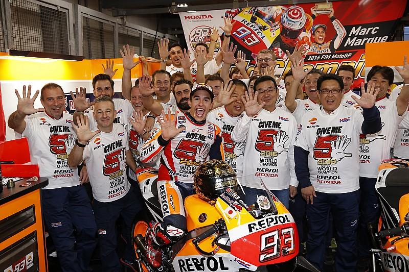 GALERI: Statistik rekor MotoGP Marc Marquez