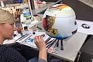 VÍDEO: Como o capacete de Vettel para Suzuka foi pintado