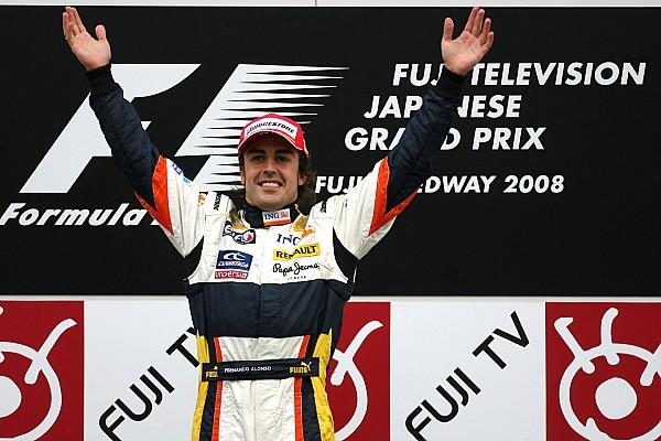 Forma-1 Alonso utolsó renault-s győzelme