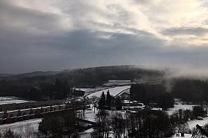 General Artículo especial Vídeo: ¡dos vueltas a un Spa-Francorchamps nevado!