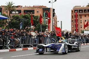 فورمولا إي أخبار عاجلة المغربي بن يحيى يختبر سيارة فورمولا إي في تجارب مراكش للناشئين