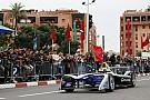 فورمولا إي المغربي بن يحيى يختبر سيارة فورمولا إي في تجارب مراكش للناشئين