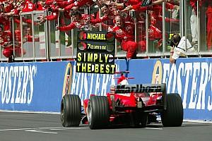 Formula 1 Top List GALERI: Karier F1 Michael Schumacher dalam foto