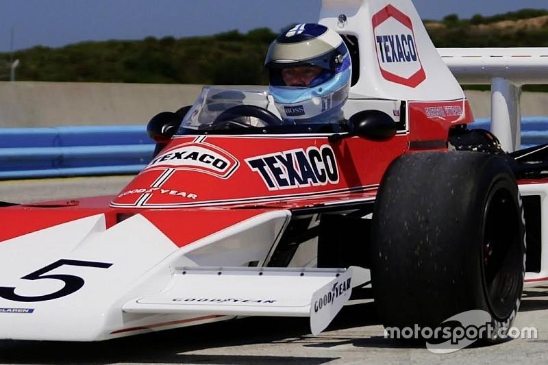 VÍDEO: Hakkinen anda com McLaren campeã de Fittipaldi