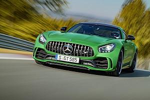 Auto Actualités Encore plus de puissance pour la Mercedes AMG GT!