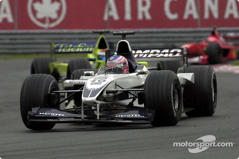 Jenson Button, far behind
