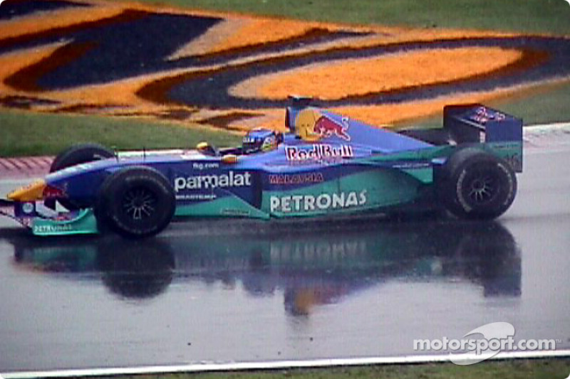 Diniz in the wet