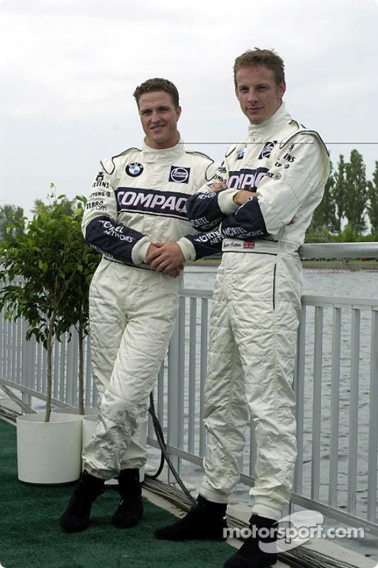 Ralf Schumacher and Jenson Button