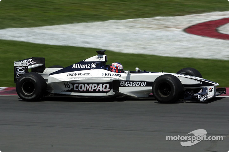 Jenson Button learning the track