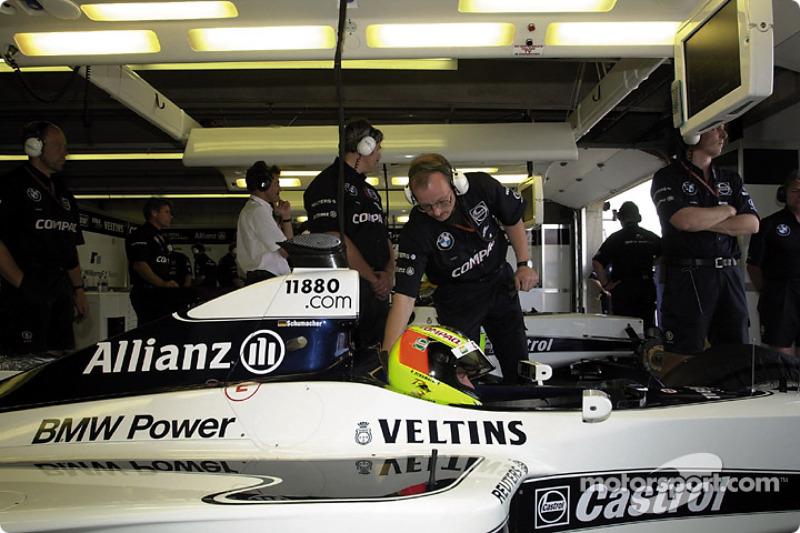 Un último intento para Ralf Schumacher